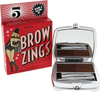 Benefit Brow Zings Total Taming and Shaping Kit, No. 5 Deep, 0.15 Ounce