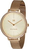 TOMMY HILFIGER KELLY WOMEN's CHAMPAGNE DIAL WATCH - 1782114