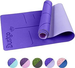 Dustgo Esterilla Yoga Colchoneta de Yoga Antideslizante con