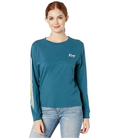 Roxy Day Trail Vintage Long Sleeve Tee (Dragonfly) Women