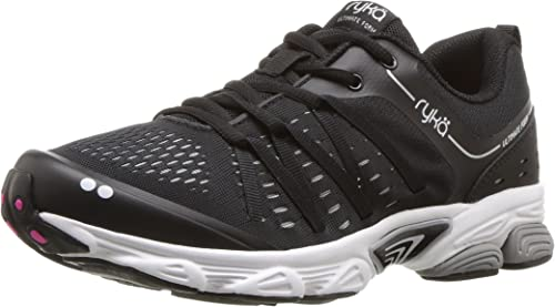 Ryka Wohommes Ultimate Form FonctionneHommest chaussures, noir argent, 10 W US