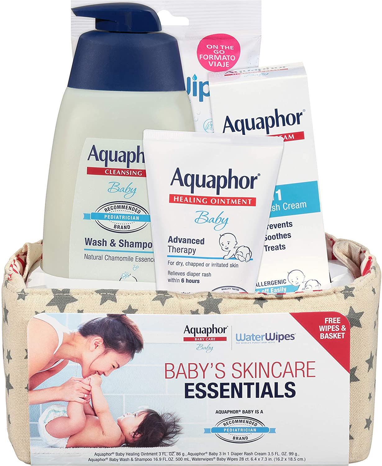 Aquaphor Baby Welcome Gift Set Included Bag WaterWipes Max 56% OFF and Free NEW before selling ☆