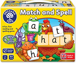 Orchard Toys Match and Spell Children's Game, Multi, One Size