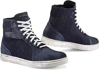 TCX Ace Denim Adult Street Motorcycle Shoes - Blue Denim/EU 45 / US 11
