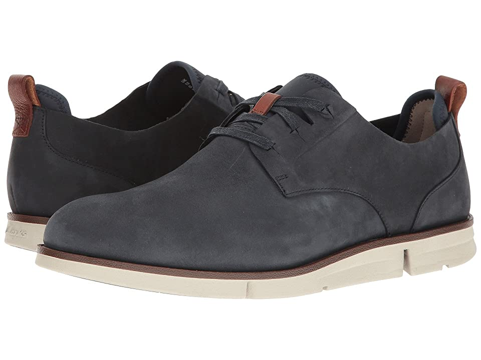 Clarks Trigen Lace (Navy Nubuck) Men