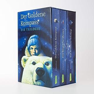 His Dark Materials: Der Goldene Kompass, Das Magische Messer und Das Bernstein-Teleskop im Schuber: Alle 3 Bände im Taschenbuchschuber