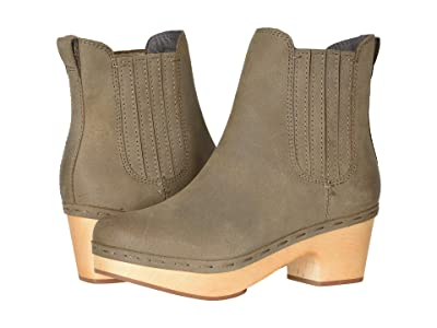 FRYE AND CO. Odessa Chelsea (Taupe Oily Nubuck) Women