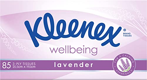 KLEENEX Facial Special Care Tissues with Lavender, 85 Sheets