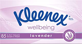 KLEENEX Facial Special Care Tissues with Lavender, 1 Box of 85 Tissues