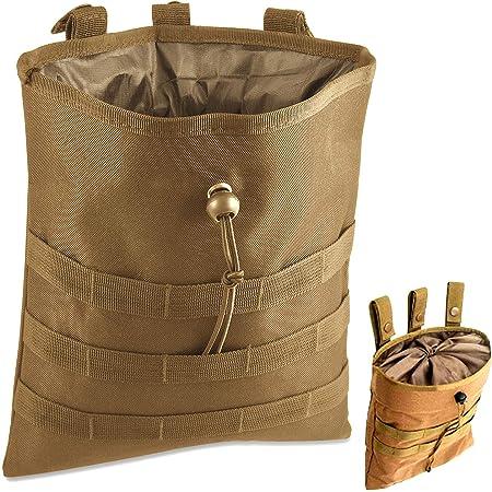 ZALING Porte-Sac /à munitions 4 Trous Kaki