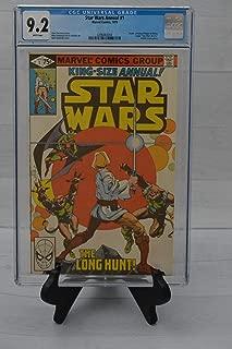 Star Wars Comic Book CGC 9.2 Annual 1 comic book 1979