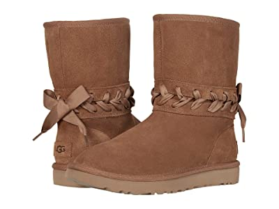 UGG Classic Lace Short (Chestnut) Women