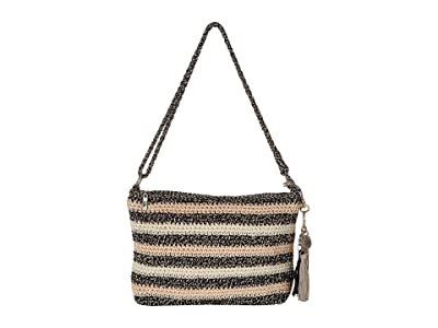 The Sak Casual Classics 3-in-1 Demi (Salt & Pepper Stripe) Handbags