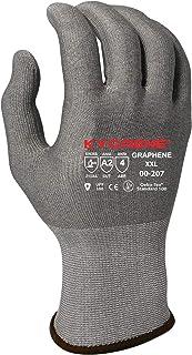 Armor Guys 00-207 (XXL) Kyorene Safe, Fine Gauge, Gray Graphene Liner, Antibacterial Glove