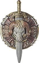 Awesome Barbarian Combat Costume Ram Shield/Sword Set