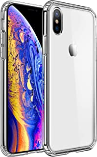 Mkeke Compatible with iPhone Xs Case,iPhone X Case,Clear Anti-Scratch Shock Absorption Cover Case iPhone Xs/X