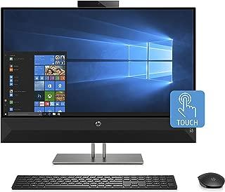 HP Pavilion 27-inch All-in-One Computer, Intel Core i7-8700T, NVIDIA GeForce GTX 1050, 16 GB RAM, 2 TB hard drive, 256 GB SSD, Windows 10 (27-xa0080, Black)