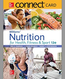 Connect Access Card for Williams' Nutrition for Health, Fitness and Sport