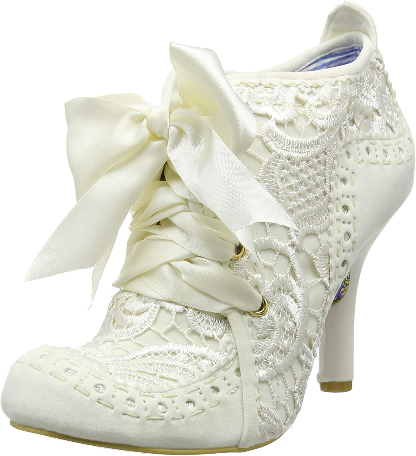 Womens Irregular Choice Abigails Third Party Evening Lace Up Mid Heels