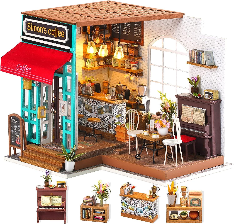 Cheap bargain Rolife DIY Dollhouse Miniature Furn service House Kit with