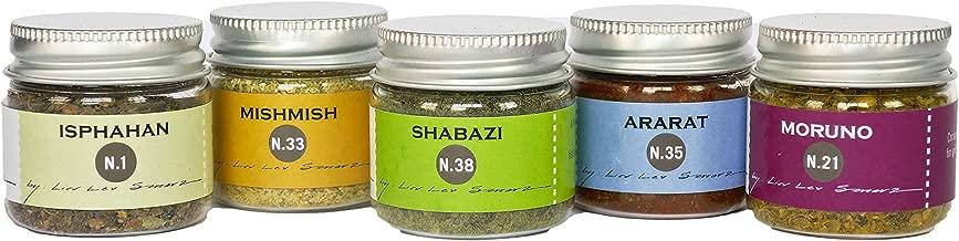 La Boite Mini Spices Set. Includes 1oz each of N.1, N.33, N.38, N.35 and N.21 (5 items)