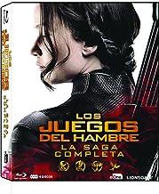 Los Juegos Del Hambre - La Saga Completa Blu-Ray (2016) [Blu-ray]
