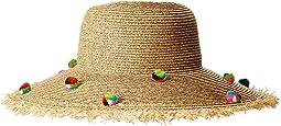 San Diego Hat Company - UBL6809 Multicolor Pom Sun Brim