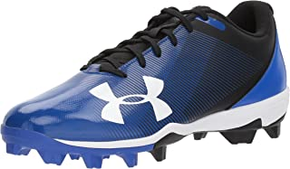 Under Armour Men's Micro G Pursuit Running Shoe Baseball, Anthracite (100)/Black, 7.5