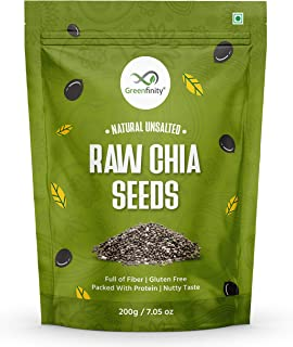 GreenFinity Raw Chia Seeds Rich in Omega 3 for Weight Loss 1kg