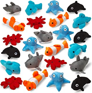 stuffed sea creatures