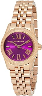 Michael Kors Womens Quartz Watch, Analog Display and Stainless Steel Strap MK3273