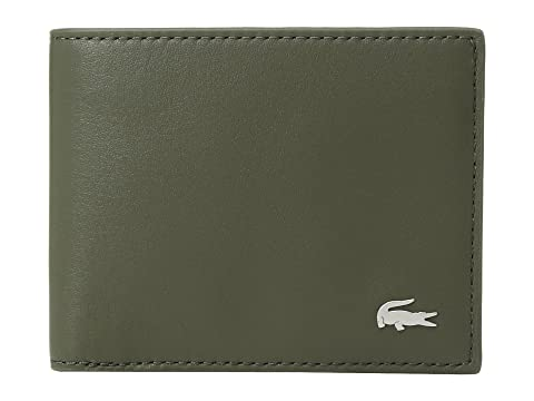 Lacoste FG Small Billfold ID Slot Grape Leaf Clearance Best Seller Discounts Sale Online New Arrival Fashion HH9pnwh
