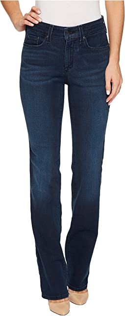 NYDJ Marilyn Straight Jeans in Smart Embrace Denim in Morgan