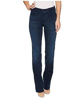 Marilyn Straight Jeans in Smart Embrace Denim in Morgan
