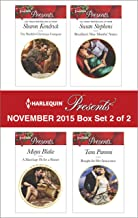 Harlequin Presents November 2015 - Box Set 2 of 2: An Anthology