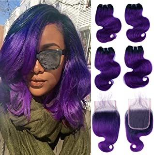 Best blonde hair with purple ombre Reviews