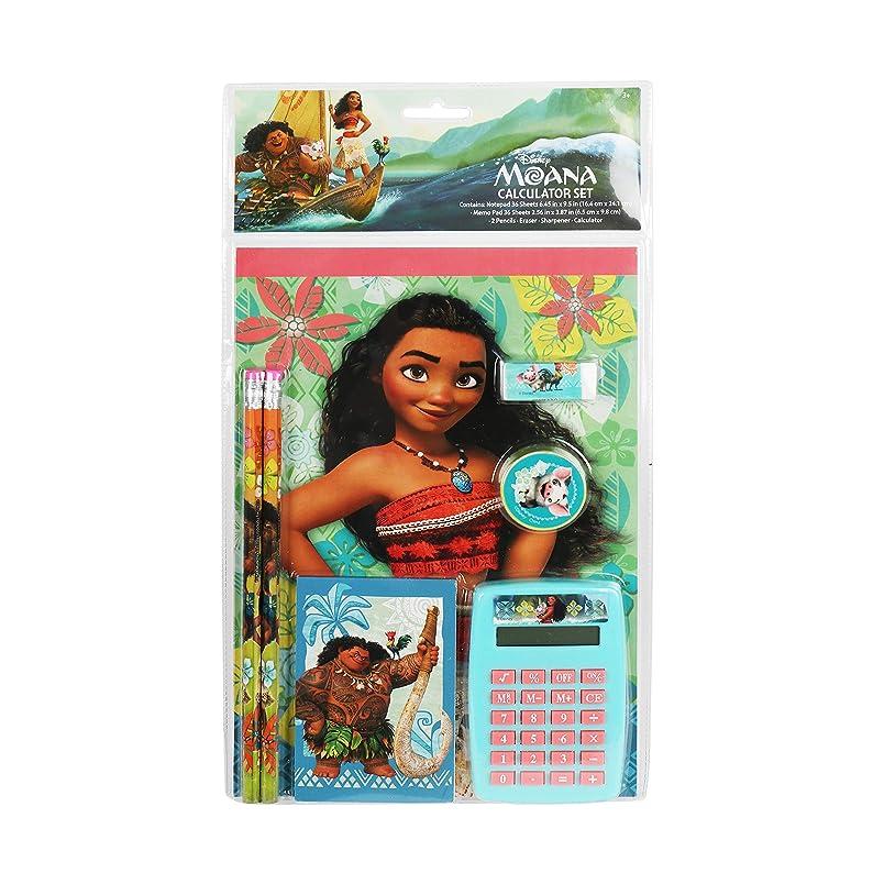 4SGM Disney Moana 7Piece Fun Calculator Set go713744876