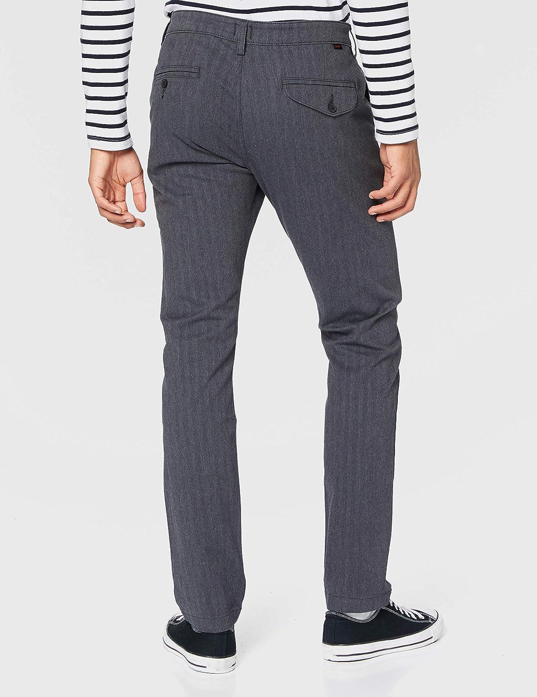 Lee Slim Chino Pantalon Homme Chevrons