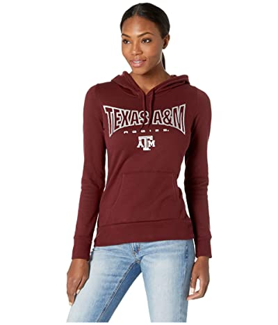 Champion College Texas AM Aggies Eco University Fleece Hoodie (Maroon 2) Women