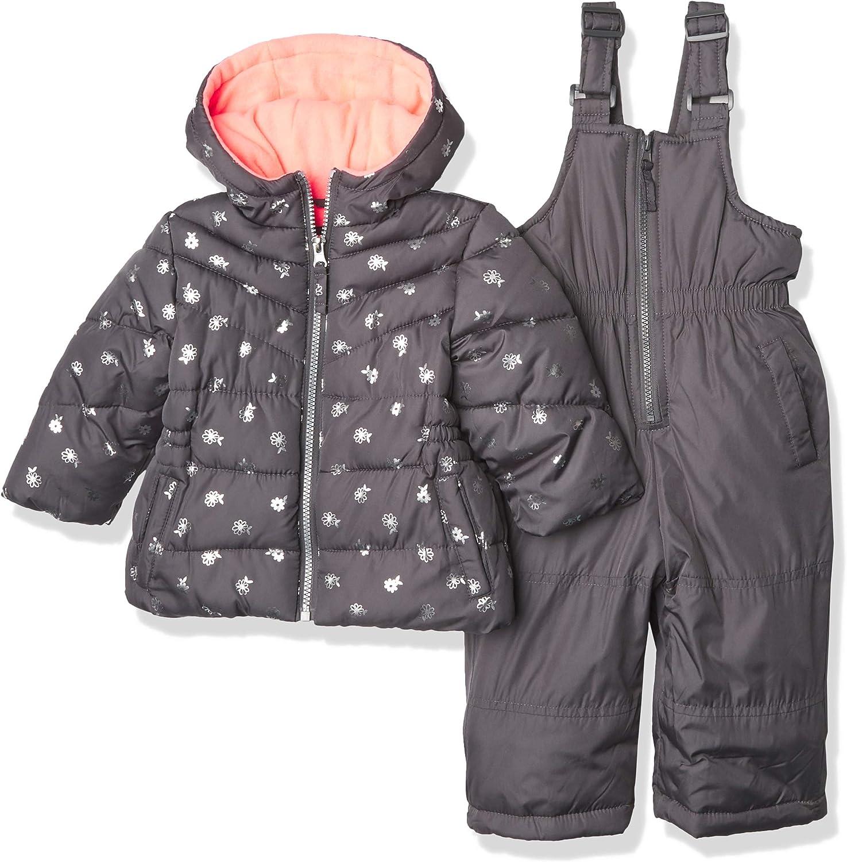 Pink Platinum Baby Girls' Snowsuits