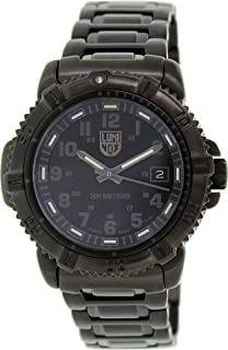 Luminox Steel Colormark Black Dial Black Ion-plated Ladies Watch 7252.BO
