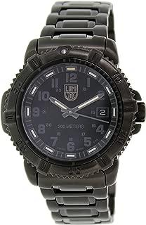 Luminox Steel Colormark Black Dial Black Ion-plated Ladies Watch 7252.BO