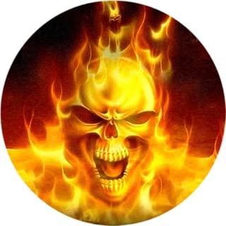 Fire Skull Live Wallpaper