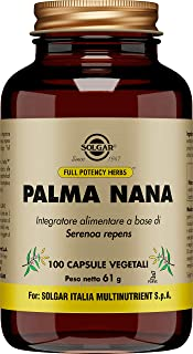 Solgar FP Saw Palmetto Berries, 100 Capsules