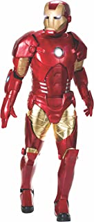 Rubie's Costume Co Men's Marvel Universe Supreme Edition Iron Man Costume