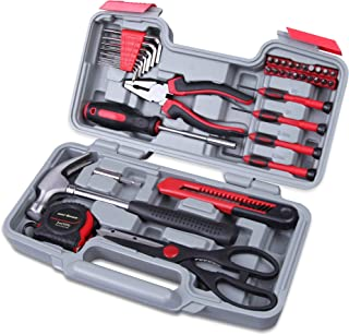 CARTMAN Red 39-Piece Cutting Plier Tool Set - General...