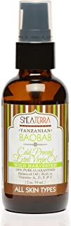 Shea Terra Tanzanian Baobab Cold-Pressed Extra Virgin Oil | All Natural & Organic Oil with Anti-Aging Fatty...