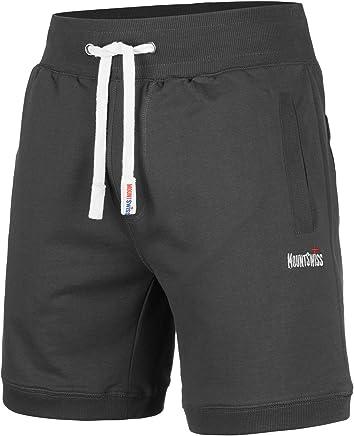 fede959b0f Mount Swiss© Herren Freizeit-Shorts Luca/Kurze Hose/Jogginghose/Sweatpants  aus