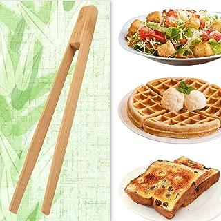 Best natural living mini bamboo tongs Reviews