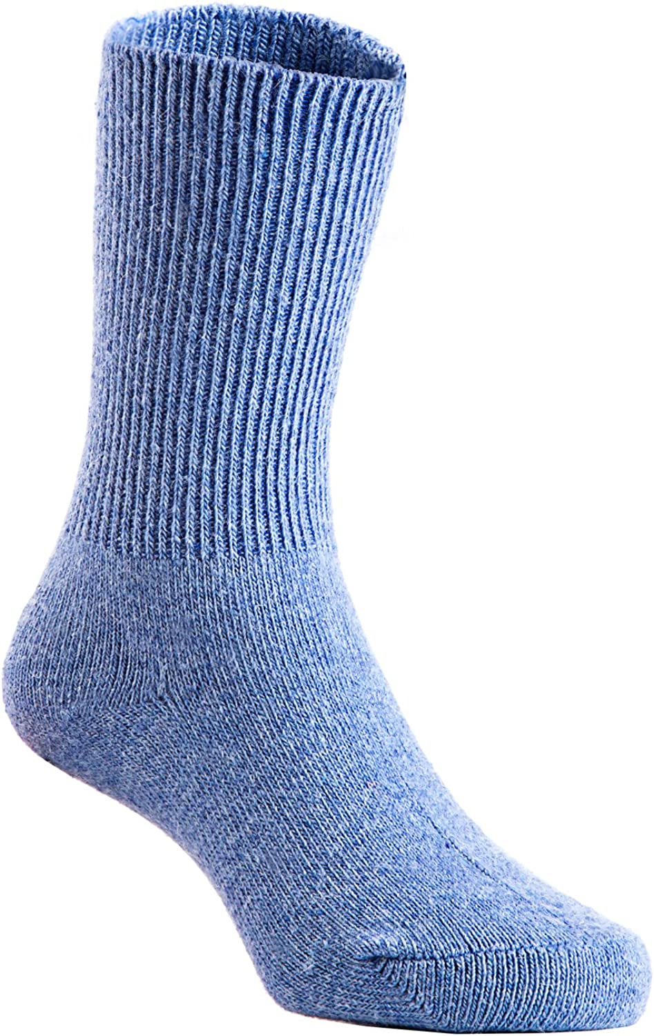 Lian LifeStyle Children 3 or 6 Pairs//Colors Pack Wool Socks Plain Color